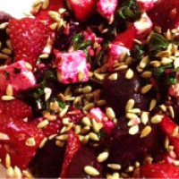 Strawberry & Beet Salad