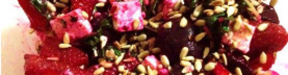 Strawberry & Beet Salad