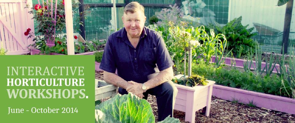 Interactive Horticulture Workshops – Media Release