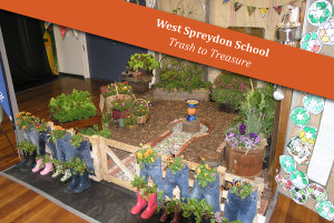 West Spreydon School Trash to Treasure : GOLD AWARD