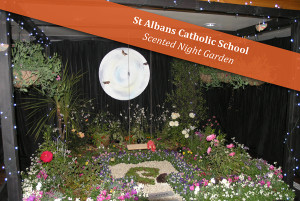 St Albans Catholic School Scented Night Garden : GOLD AWARD