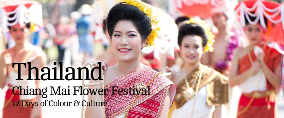 Thailand – Chiang Mai Flower Festival