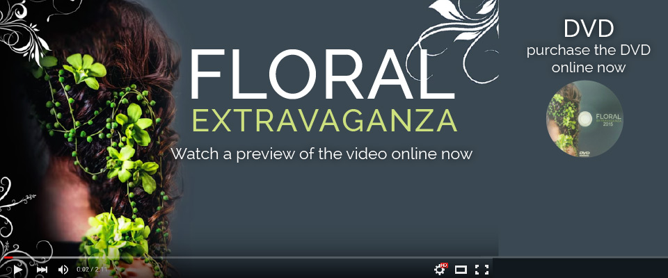 Margaret Watling Floral Art Demonstration DVD
