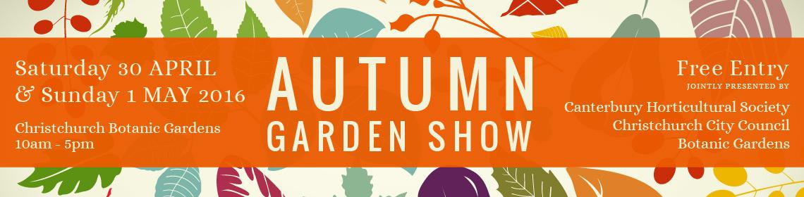 Autumn Garden Show Media Release