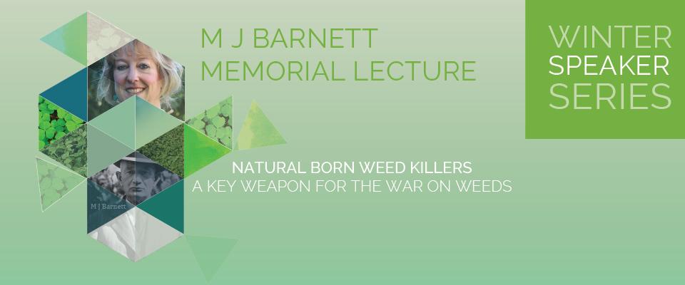M J Barnett Memorial Lecture 2016