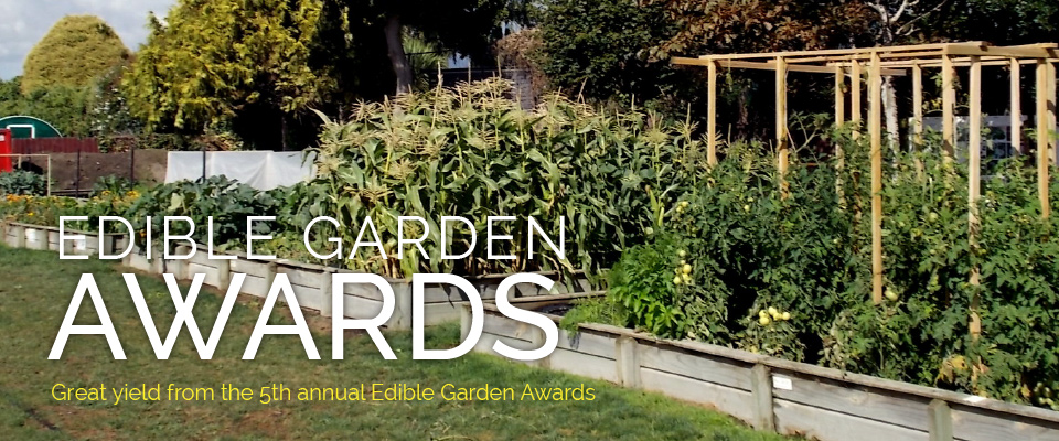 Edible Garden Award Results 2017