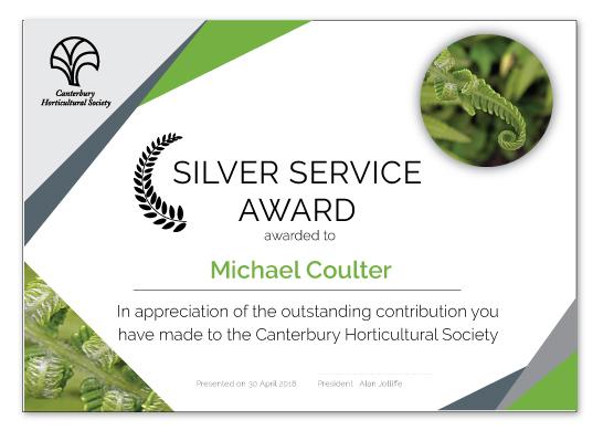 Silver Service Award